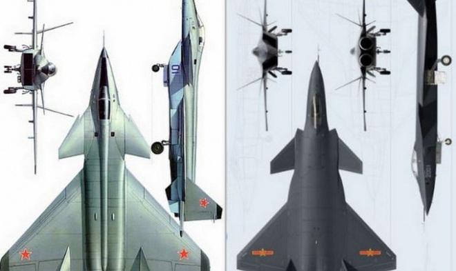 [ẢNH] Không phải MiG-1.44, J-20 thực chất là bản sao tiêm kích tuyệt mật của Liên Xô - ảnh 5
