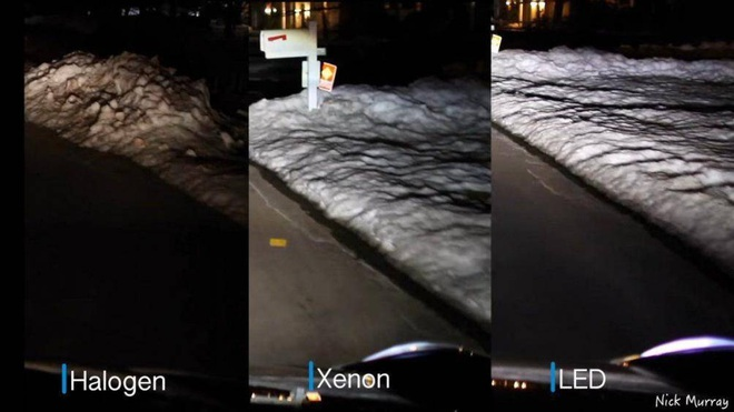 Đèn LED giúp tiết kiệm nhiên liệu hơn so với Halogen và Xenon - Ảnh 1.
