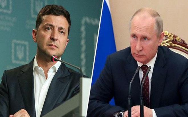 Tổng thống Nga và Tổng thống Ukraine điện đàm