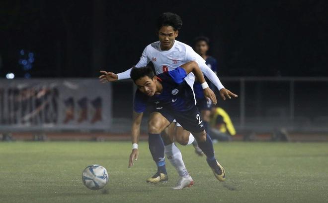 KẾT THÚC Campuchia 3-1 Malaysia, Timor-Leste 1-6 Philippines: Campuchia có tấm vé lịch sử