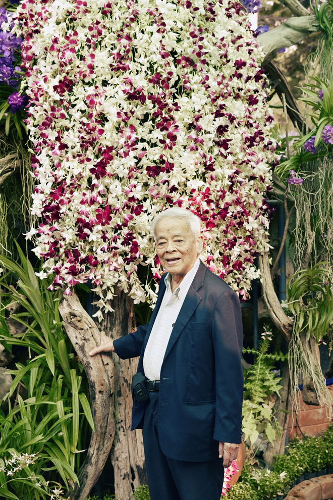 Giáo sư Rapee Sagarik: Cha đẻ của hoa lan Thái Lan và lời khuyên đắt giá về hạnh phúc - Ảnh 3.