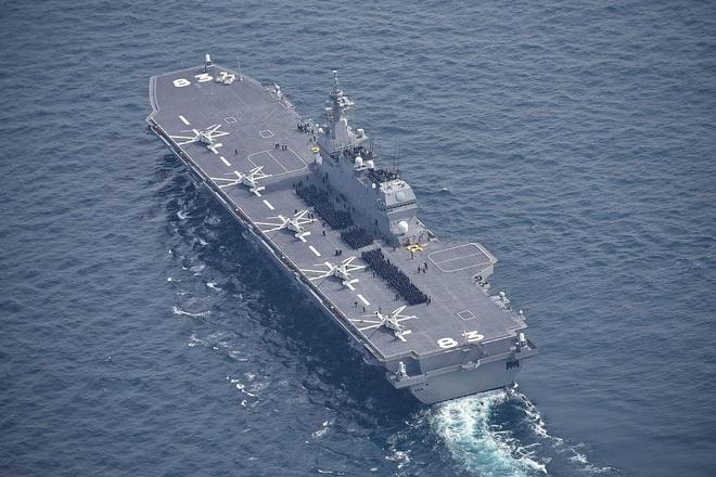 Nhật vũ trang siêu tàu sân bay bằng công nghệ tối tân của Mỹ: Đủ sức áp đảo Trung Quốc? - Ảnh 3.