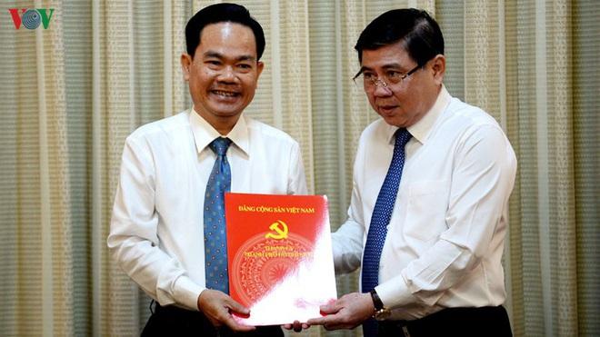 TPHCM bổ nhiệm cán bộ thay thế ông Lê Tấn Hùng vừa bị bắt - Ảnh 1.
