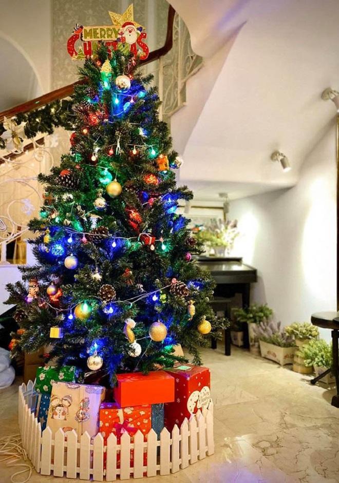 Biệt thự vợ chồng Thúy Hạnh trang hoàng lung linh đón Noel - Ảnh 6.