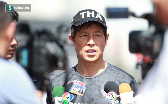 Thái Lan nhận hung tin, HLV Nishino