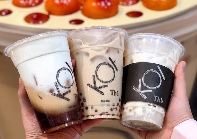 Vật vã xếp hàng cả tiếng đồng hồ để mua trà sữa KOI Thé đầu tiên tại Hà Nội - Ảnh 9.