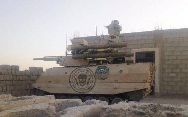 """Hé lộ robot chiến đấu của Nga ở Syria khiến Mỹ - Thổ """"toát mồ hôi hột"""""""