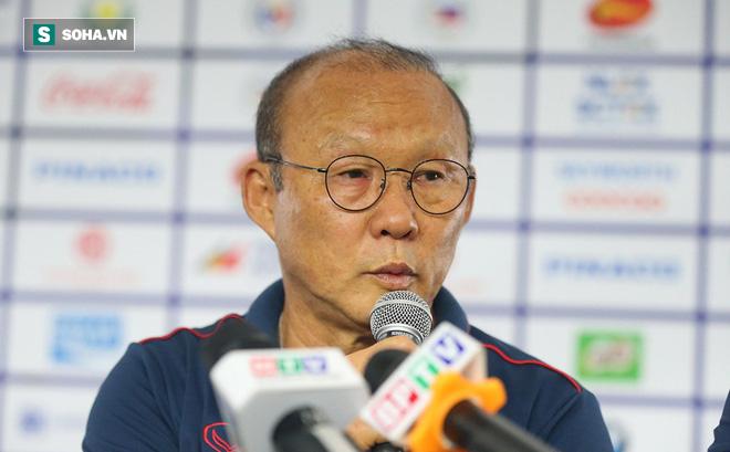 HLV Park Hang-seo kém vui khi bị chất vấn có hay không việc lén do thám đối thủ SEA Games