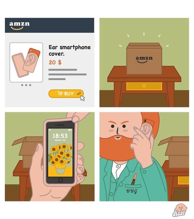 Thế giới công nghệ theo cách không tưởng trong loạt tranh hài xoắn não - Ảnh 3.