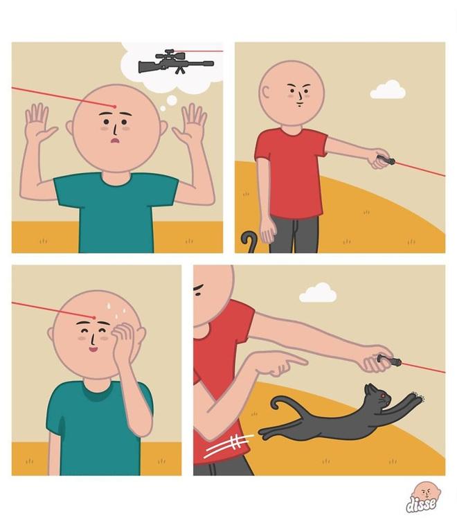 Thế giới công nghệ theo cách không tưởng trong loạt tranh hài xoắn não - Ảnh 4.