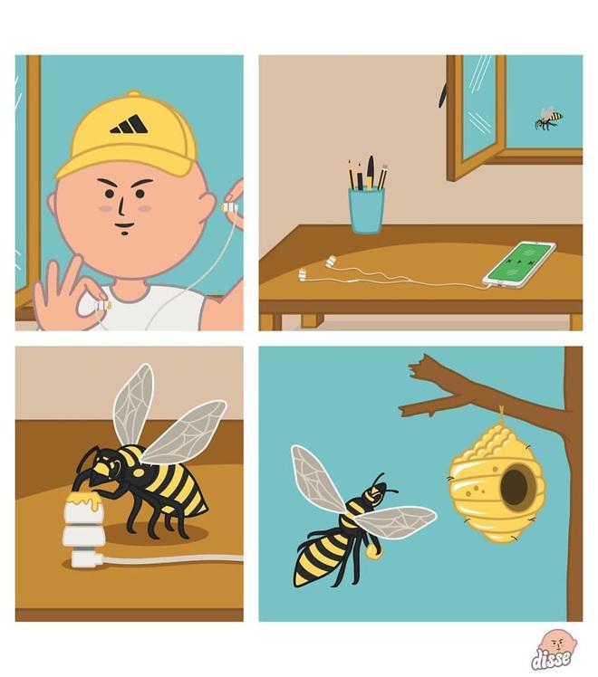 Thế giới công nghệ theo cách không tưởng trong loạt tranh hài xoắn não - Ảnh 9.