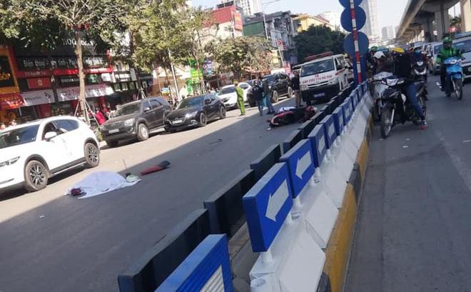 Hà Nội: Xe tải tông xe máy trên đường Nguyễn Trãi khiến 2 người tử vong