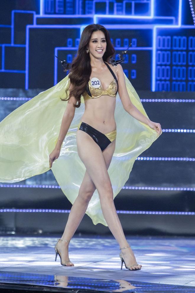 Cận cảnh phần trình diễn bikini nóng bỏng của Tân hoa hậu Hoàn vũ Việt Nam 2019 - Ảnh 3.