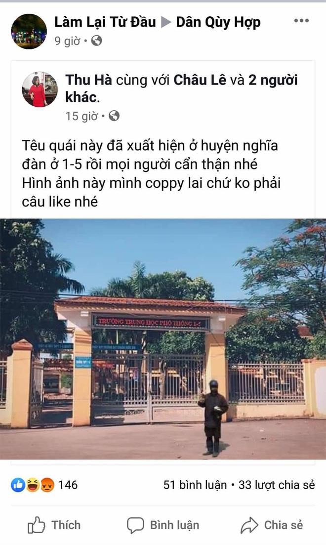 Thực hư thông tin nhóm ăn xin mặt quỷ về đến Nghệ An, Hà Tĩnh - Ảnh 2.