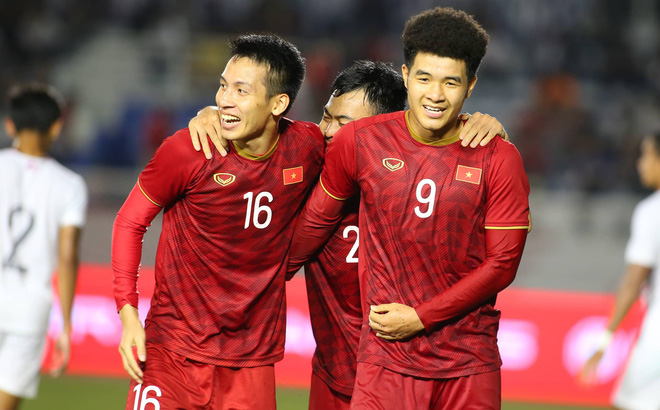 [Kết thúc] U22 Việt Nam 4-0 U22 Campuchia: Văn Toản cản phá thành công quả penalty của Campuchia
