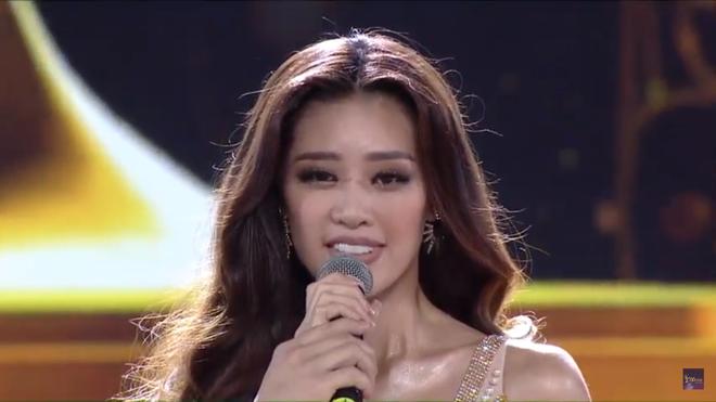 Tân Hoa hậu Hoàn vũ Việt Nam trả lời ứng xử ngắn và ấp úng nhất nhưng vẫn giành chiến thắng - Ảnh 1.