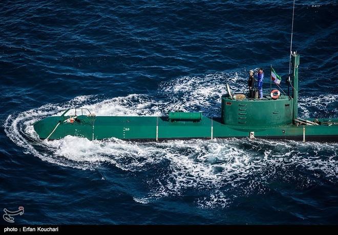Hải quân Iran vỗ ngực mạnh thứ 4 thế giới: Ẩn số nằm ở tàu ngầm Triều Tiên? - Ảnh 1.