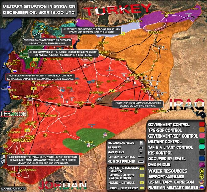 CẬP NHẬT: Bom Ninja Mỹ tiếp tục băm nhỏ phiến quân, Rồng lửa S-400 lần đầu nổ súng tại Syria - Nga lấy lại thể diện? - Ảnh 1.