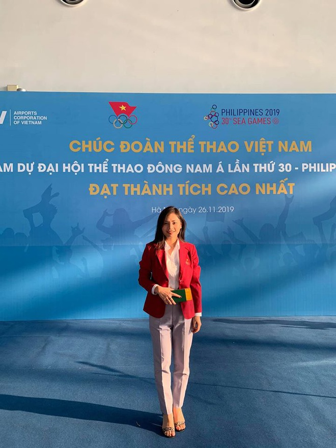 Nữ bác sĩ xinh đẹp của đoàn thể thao Việt Nam dự SEA Games 30: 1 ngày làm việc có khi kéo dài 17 tiếng - ảnh 1