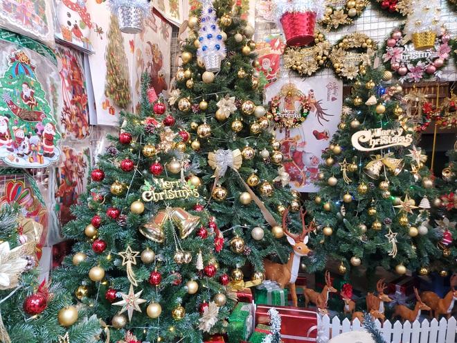 Cận Giáng sinh, cây thông Noel khổng lồ hét giá 120 triệu đồng - Ảnh 1.