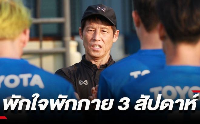 """Thất bại tại SEA Games, HLV Nishino cho U23 Thái Lan """"chơi dài"""" trước VCK U23 châu Á"""