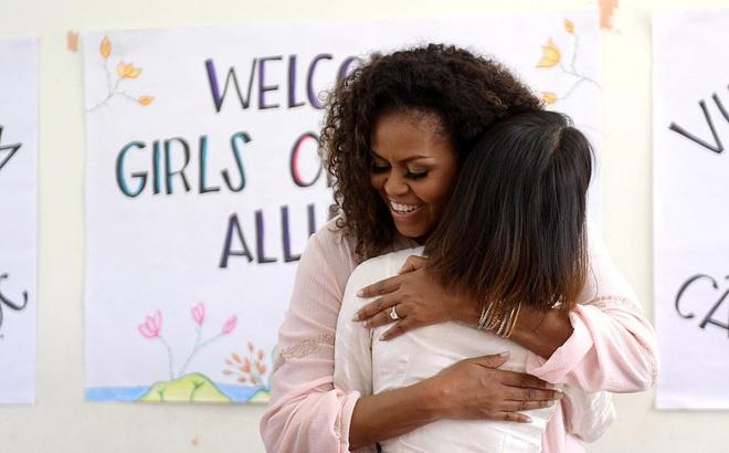 """Bà Michelle Obama động viên nữ sinh Việt nỗ lực học tập: Giáo dục là """"sức mạnh, tiếng nói và cơ hội"""""""