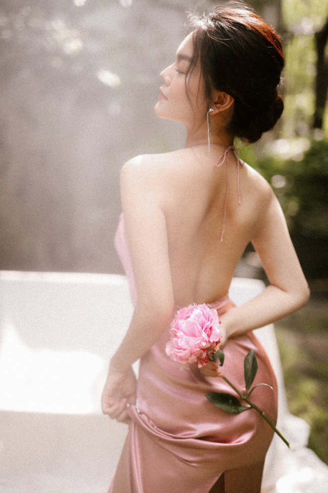 Phạm Quỳnh Anh khoe vai thon, lưng trần quyến rũ - Ảnh 5.