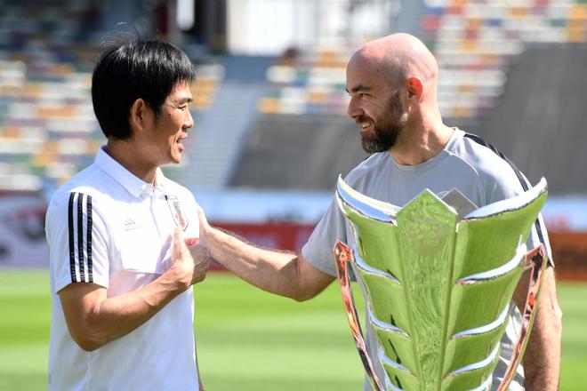 Gặp Qatar ở chung kết, HLV Nhật Bản tuyên bố cho học trò chơi không khác gì trận thắng Iran và Việt Nam - Ảnh 4.