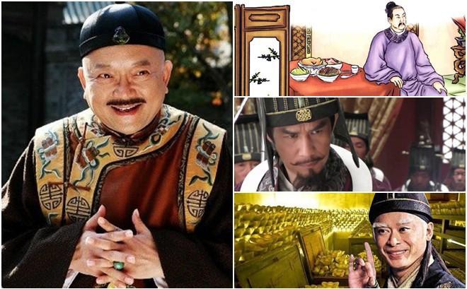 Bốn tham quan khét tiếng trong lịch sử TQ: Ngoài Hòa Thân còn 3 nhân vật giàu có không kém