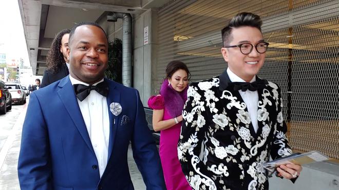 Đàm Vĩnh Hưng mặc hàng hiệu sang chảnh, bất ngờ xuất hiện tại lễ trao giải Grammy 2019 - Ảnh 1.