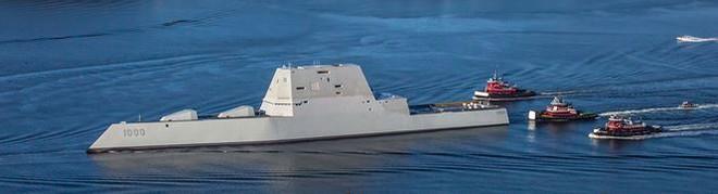 Tàu khu trục tàng hình Mỹ: siêu đắt, siêu vô dụng? - Ảnh 1.