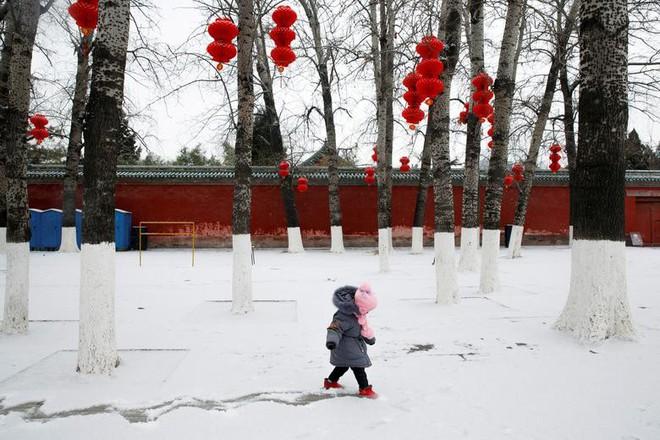 24h qua ảnh: Binh sĩ Trung Quốc đứng gác dưới mưa tuyết lạnh giá - Ảnh 8.