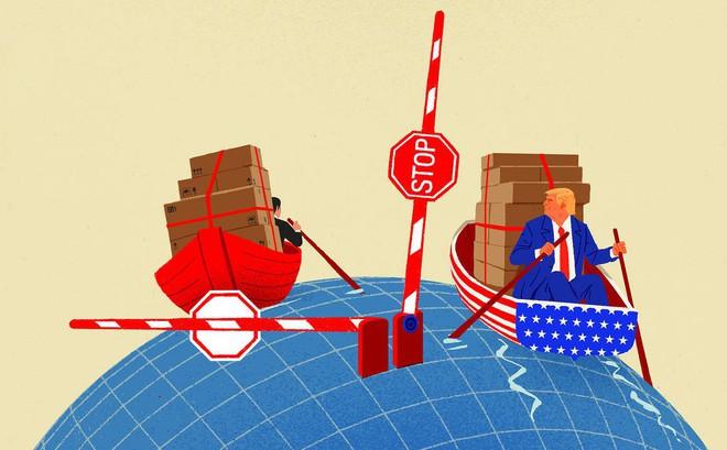 """Hồi kết thương chiến: TT Trump nắm giữ cơ hội lịch sử để """"nhấn chìm"""" con thuyền kinh tế TQ"""
