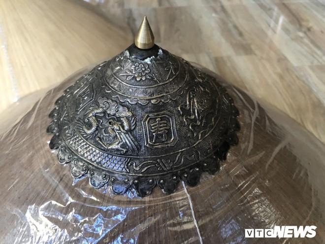 Ảnh: Nón ngựa Phú Gia - chiếc nón của đội quân Tây Sơn thần tốc - Ảnh 2.