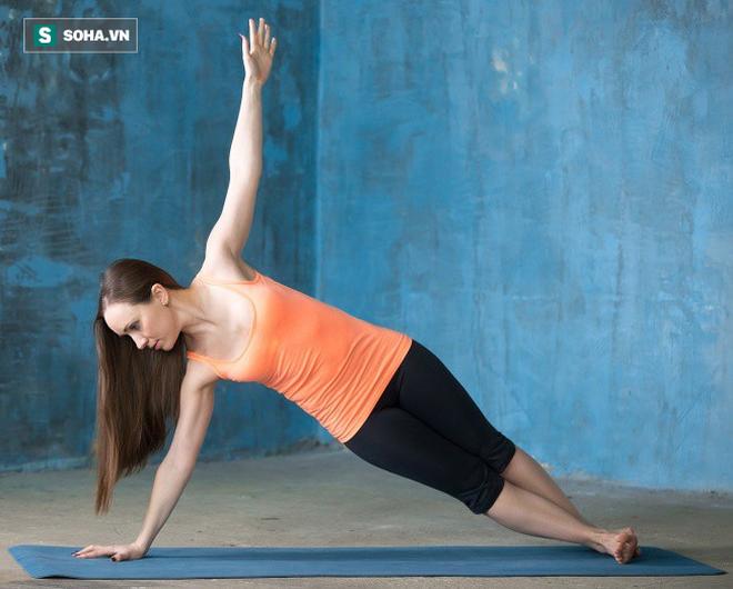 Bài thể dục chỉ việc giữ yên cũng giúp giảm mỡ bụng: Bạn chắc chắn sẽ cần ngay bây giờ - Ảnh 3.