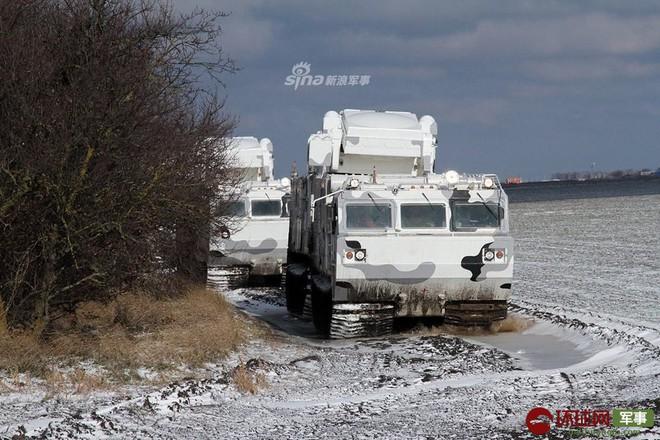 Quái thú Tor-M2DT của Hạm đội Phương Bắc Nga thị uy tại Bắc Cực - Ảnh 8.