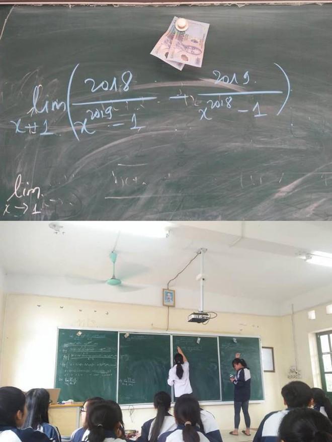 Học sinh lười lên bảng trả bài, thầy giáo ra chiêu độc khiến dân mạng rần rần chia sẻ - Ảnh 1.