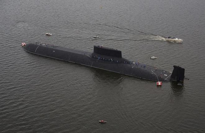 Quái vật Akula, vũ khí đáng sợ của Nga - Ảnh 1.
