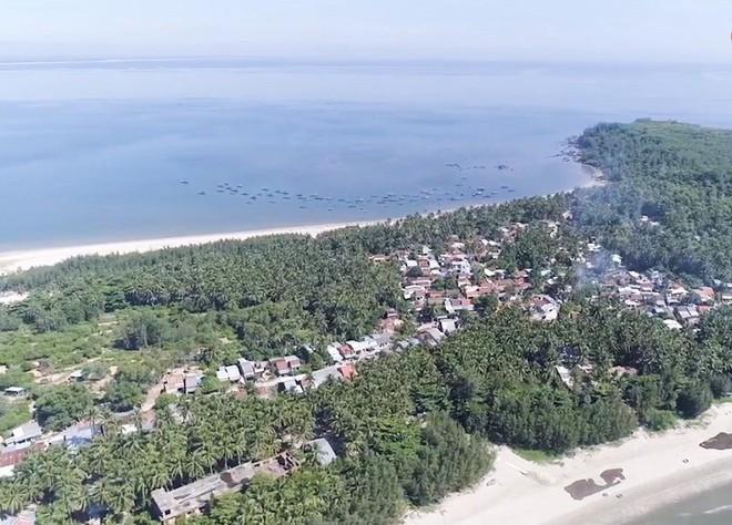 Mưu sinh trên những ngọn dừa ở đảo dừa Tam Hải - Ảnh 1.