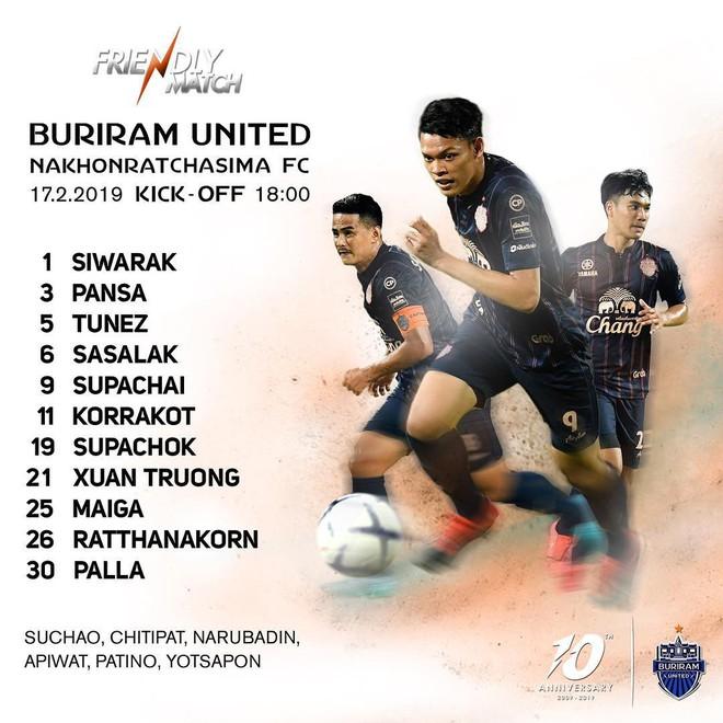 Xuân Trường suýt có đường kiến tạo tinh tế trong trận ra mắt Buriram United - Ảnh 2.