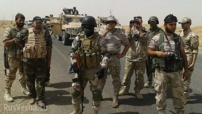 Lính tình nguyện Nga giao chiến với quân Mỹ ở gần Euphrate, Syria: Thiệt hại khủng khiếp - Ảnh 3.