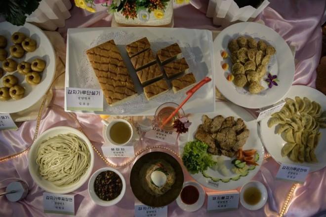 """Ảnh: Cuộc thi nấu ăn tìm kiếm """"siêu đầu bếp"""" ở Triều Tiên - Ảnh 8."""
