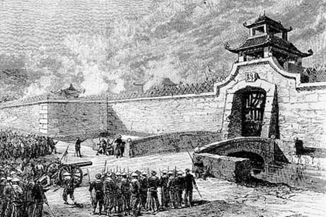 Thực dân Pháp đánh Bắc Kì lần hai, nhà nước phong kiến sụp đổ - Ảnh 2.
