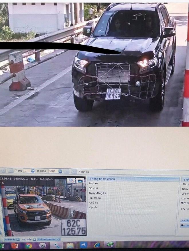 Lộ diện nhóm người tấn công tài xế và ô tô ở trạm BOT Bắc Hải Vân - Ảnh 1.