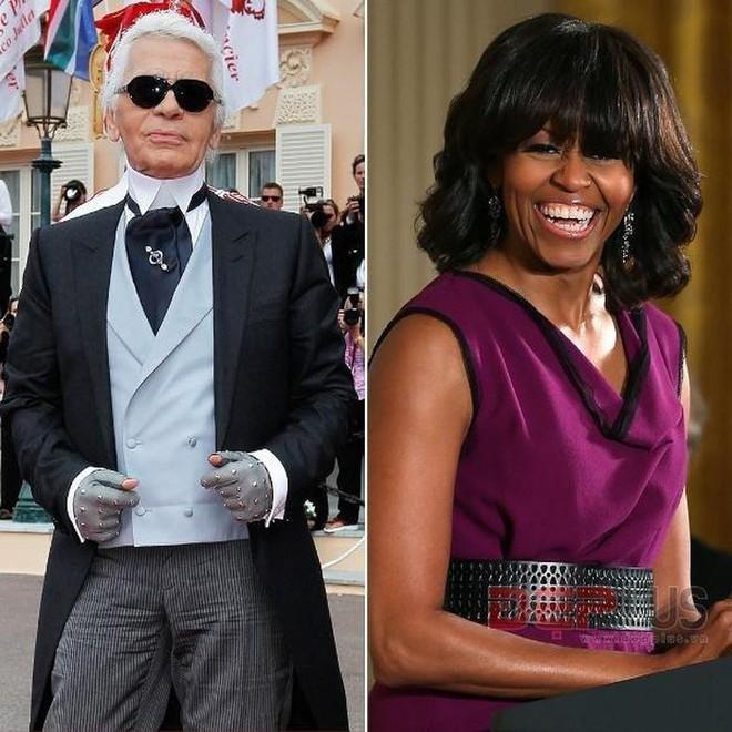 Dám chê bai phu nhân tổng thống Obama, đả kích siêu mẫu nóng bỏng, Karl Lagerfeld đáng sợ cỡ nào? - Ảnh 3.