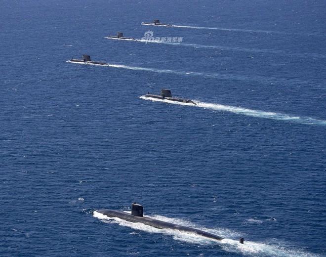 Trung Quốc lạnh gáy khi chứng kiến tàu ngầm Mỹ - Australia thị uy sức mạnh - Ảnh 1.