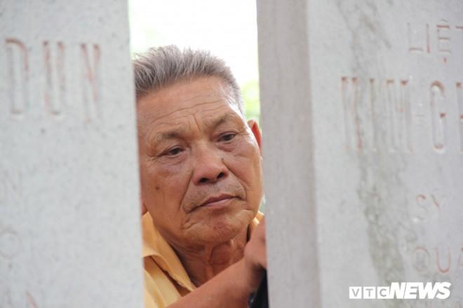Ảnh: Người thương binh hơn 20 năm cặm cụi chăm sóc khu tưởng niệm liệt sĩ Triều Tiên ở Bắc Giang - Ảnh 6.