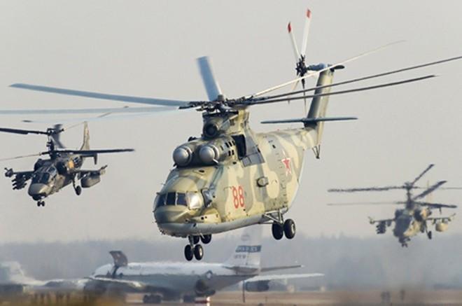 Ảnh: Các loại trực thăng quân sự lợi hại hàng đầu của quân đội Nga - Ảnh 8.