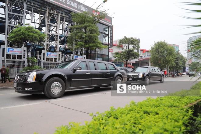 [ẢNH] Siêu xe Quái thú của Tổng thống Trump và đoàn hộ tống đổ xăng ở Hà Nội - Ảnh 6.