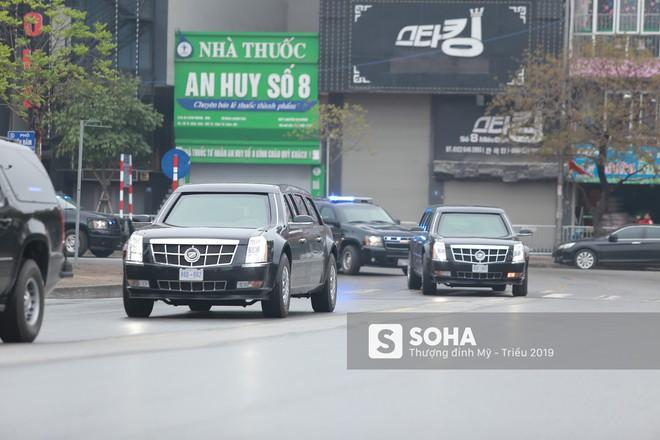 [ẢNH] Siêu xe The Beast của TT Trump cùng dàn xe đặc chủng hầm hố trên đường phố Hà Nội - Ảnh 17.